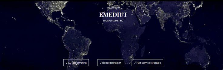Emediut - Data en Result Drivin Online Marketing.
