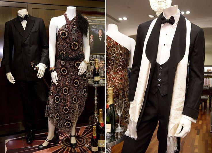 Мужской костюм стиля 20-х годов