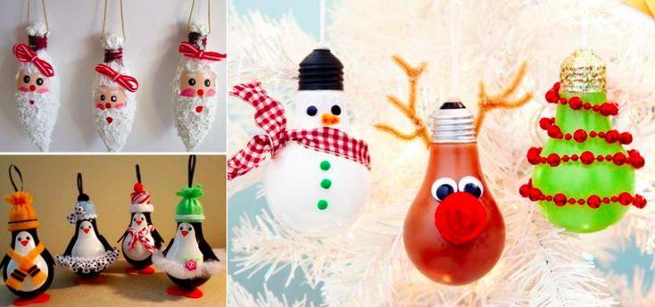 Recyclez vos ampoules pour en faire des d cos de no l 34 - Bricolage de noel pour adulte ...