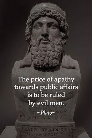 The high cost of apathy towards public affairs
