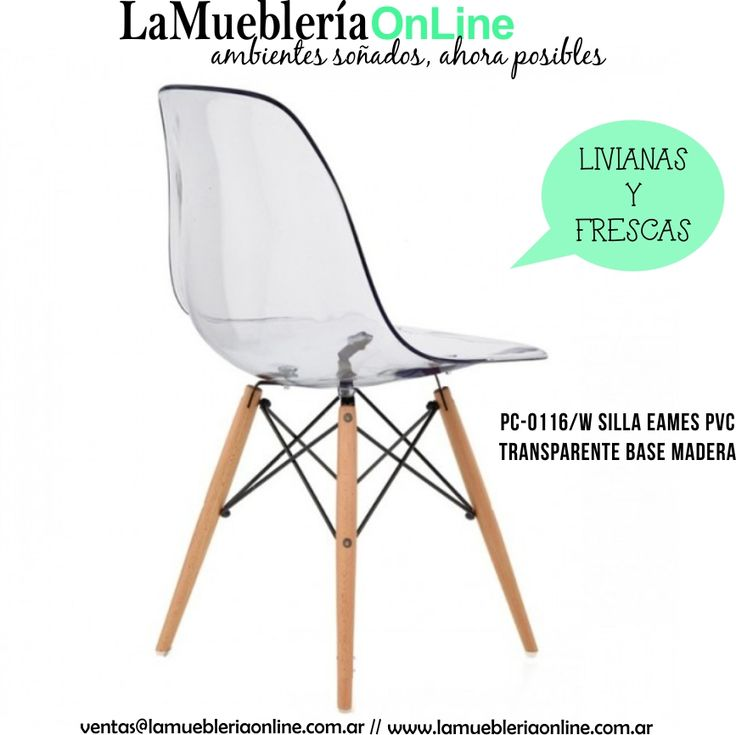 17 best Eames Transparentes Livianas y Frescas images on Pinterest