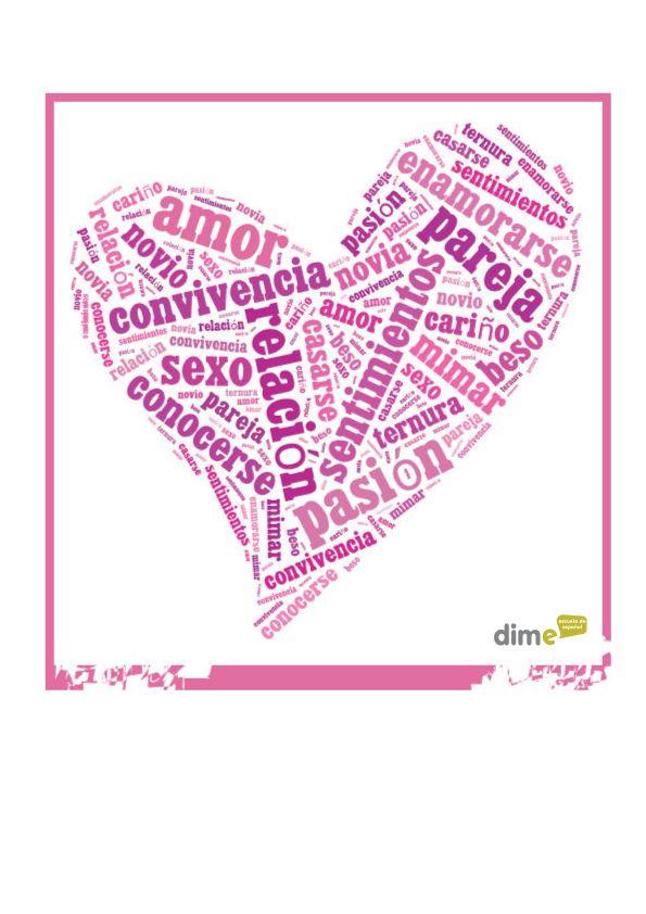Vocabulario del amor