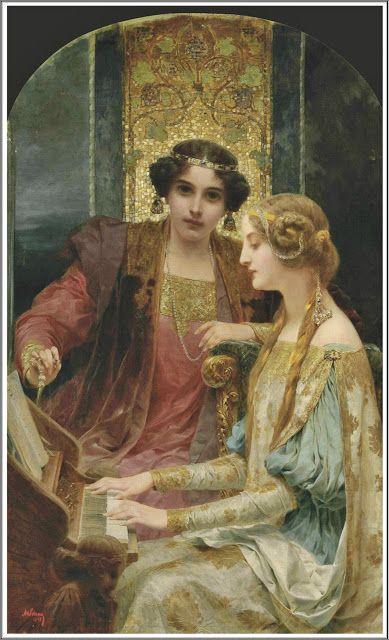 Alois Hans Schram (1864-1919), La Musique.