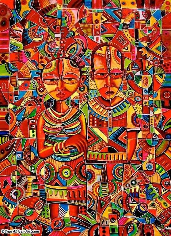 True African Art .com | Fascinating Art & Artists | Pinterest