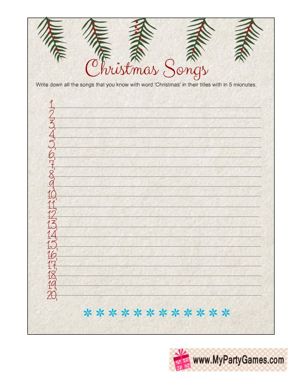 graphic about Christmas Song Scramble Free Printable named Xmas Paper Online games Printable Free of charge Merry Xmas And