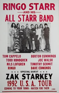 Ringo Starr and his All Starr Band - saw them at Parkwest Utah 9/2/1992