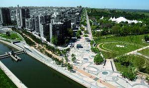 Madrid Río en Plazatio