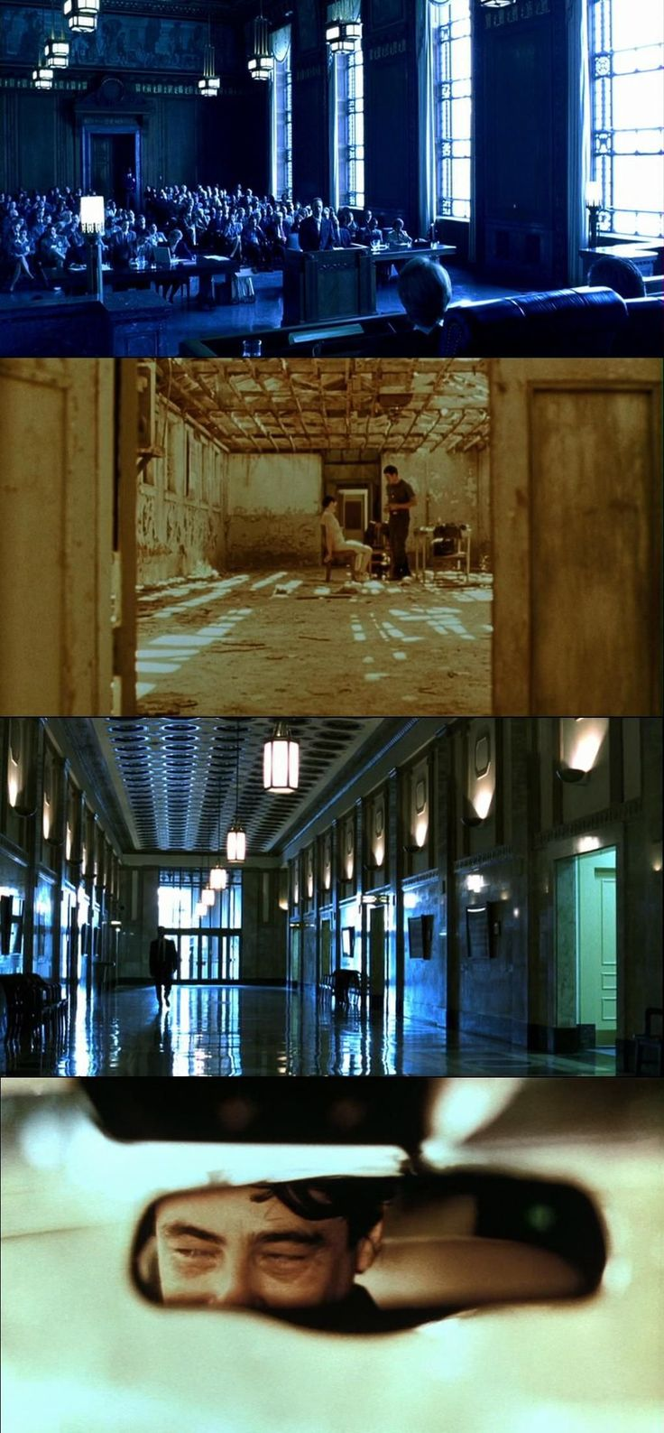 the searchers mise en scene Blade runner (for mise-en-scene) memento (to show great editing) the apartment (for a comedy) drive (to show good directing) raging bull (to show cinematography) singin in the rain (for a musical) the royal tennenbaums (for lighting/colour) the good the bad and the ugly (western) the general (silent film) 8 1/2 (foreign films.