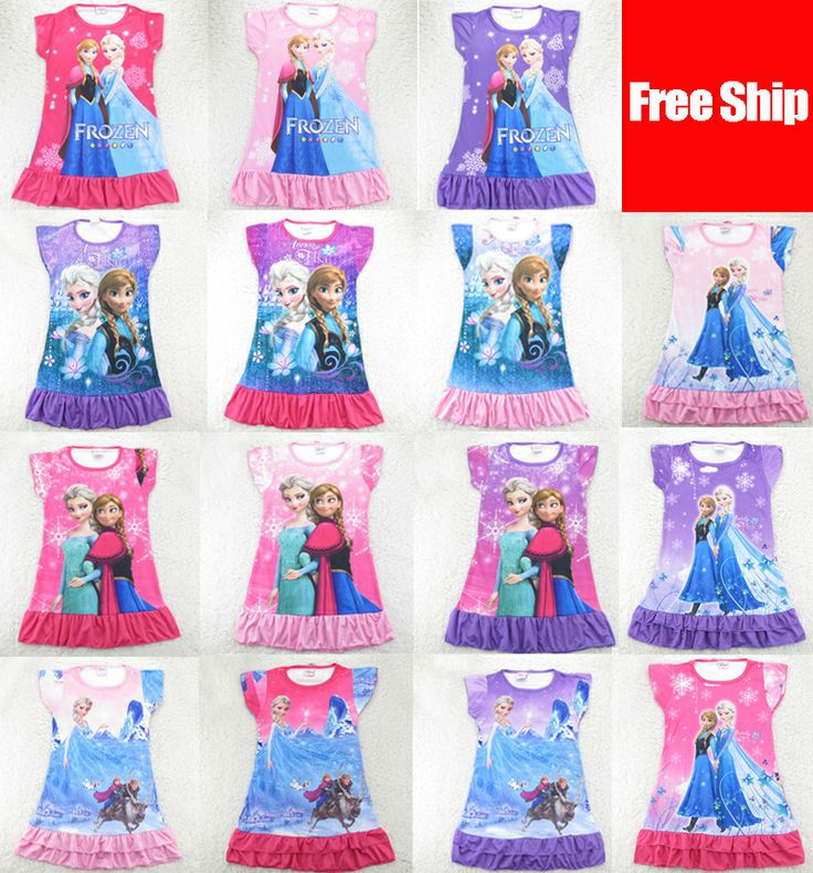 Old Fashioned Frozen Night Gowns Composition - Images for wedding ...