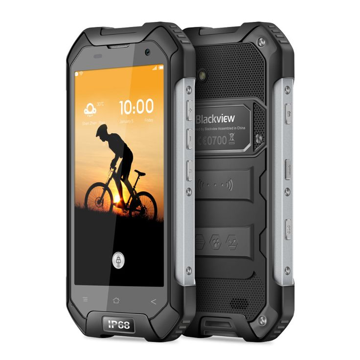 "Blackview BV6000s 4G 4.7"" Waterproof Shockproof Smartphone Android 6.0 MTK6737T Quad Core 2GB+16GB 8MP 4200mAh OTG Mobile Phone"