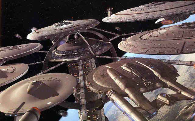 The Old & The New - Star Trek Wallpaper