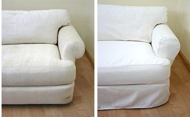 Custom Slipcovers for Furniture | Sofa & Ottoman slipcovers | All Shapes & Sizes #slipcovers