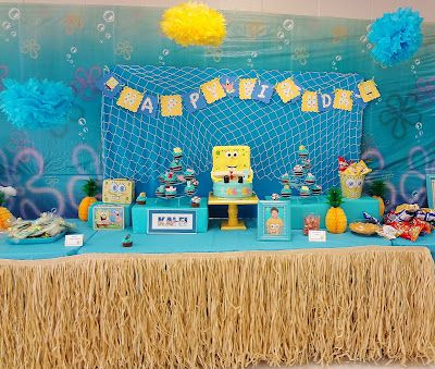 Design Dazzle » SpongeBob Party