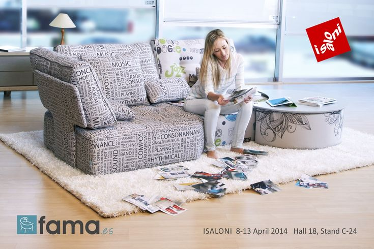 Fama will be presenting its new 2014 collection at the next Milan Furniture Show, ISALONI.
