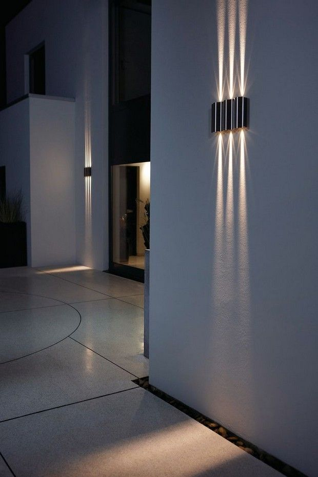 17 best ideas about modern lighting on pinterest modern for Eclairage mural exterieur