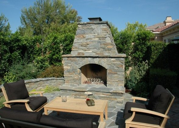 Masonry fireplace kits prefabricated fireplace mason for Prefabricated fire pits
