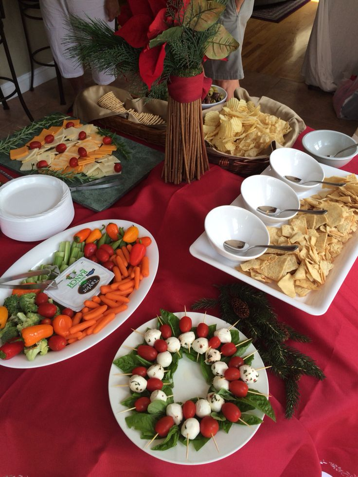 Christmas In July Party Food Ideas Part - 44: Christmas In July Party Table!