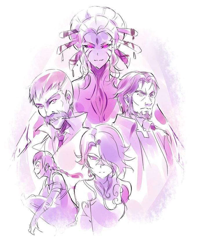 RWBY. Volume 4 villains