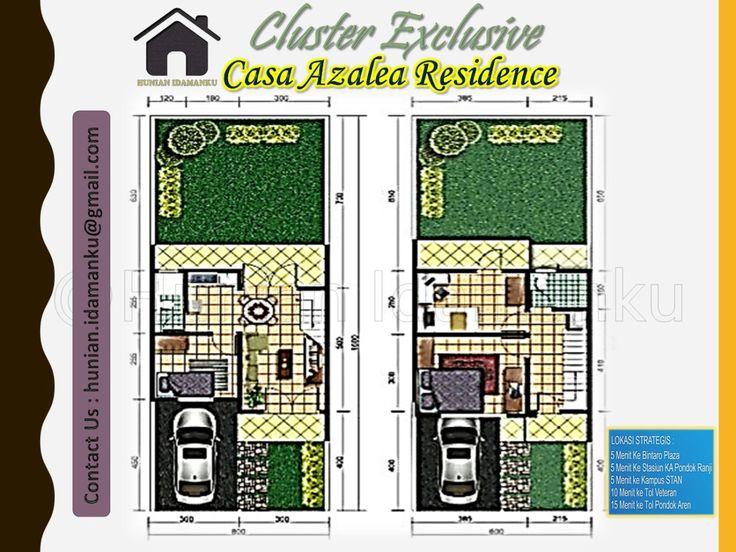 CASA AZALEA RESIDENCE BINTARO adalah Rumah dengan konsep mewah minimalis yang…