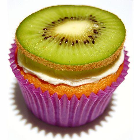Kiwi Cupcake