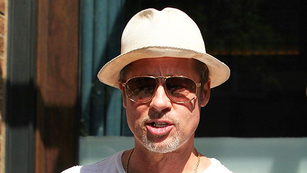 Brad Pitt Shows Off Ripped Muscles In Tight White Tee & We're Swooning — Pics https://tmbw.news/brad-pitt-shows-off-ripped-muscles-in-tight-white-tee-were-swooning-pics  Brad Pitt is basically James Dean when he wears a white t-shirt, and we can barely handle it. See the new pics of Brad looking happy and relaxed in Los Angeles after his trip to Glastonbury Festival, where he reportedly PDA'd with Sienna Miller, here!Brad Pitt, 52,stepped out looking quite studly on July 4, and dare we say…
