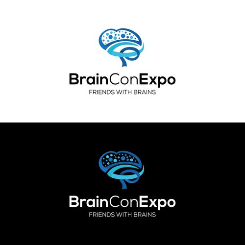 State-of-the-art logo for state-of-the-art nonprofit! Help revolutionize Brain Con Expo 🌟 Design by Hoky Queen