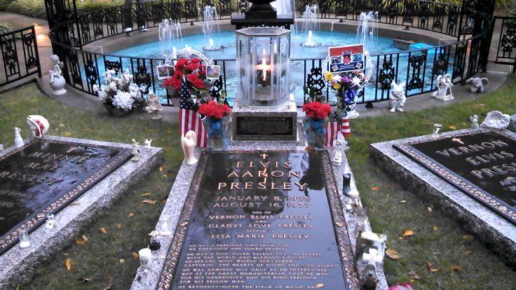 Elvis Final Resting Place Graceland Meditation Garden