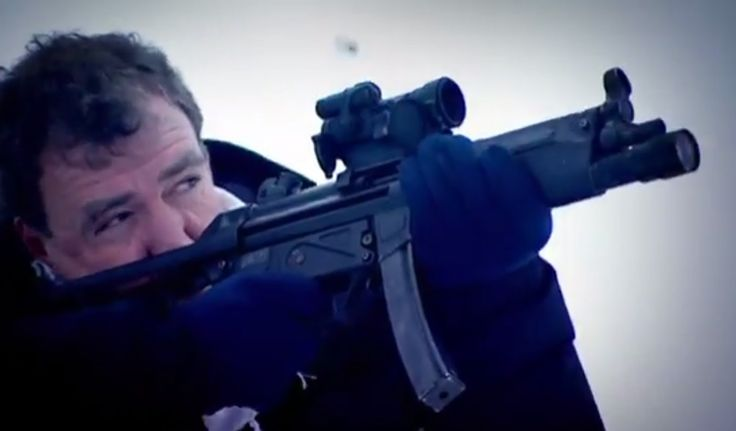 This is why the original Top Gear from BBC is probably one of the best TV shows every produced. Guns & Ice: Winter Biathlon Challenge - Top Gear Winter Olympics - BBC