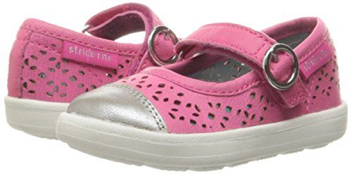 Stride Rite Kids Poppy Mary Jane Flats, Pink, 4 M US Big Kid: Amazon.ca: Shoes & Handbags