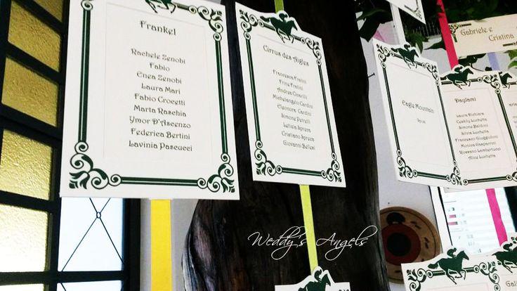 Cristina e Gabriele- tableau cavalli da corsa#tableau racehorses