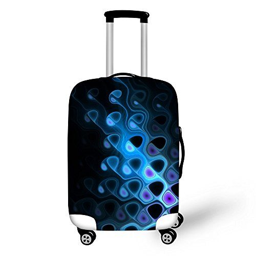 New Trending Luggage: FOR U DESIGNS 18-22 Inch Small Blue Luxury Spandex Luggage Cover Suitcase Protective Cover for Boys. FOR U DESIGNS 18-22 Inch Small Blue Luxury Spandex Luggage Cover Suitcase Protective Cover for Boys  Special Offer: $18.99  400 Reviews For U Designs launched a series of luggage covers with various styles, such as animal,plant,landscape,food,colorful design ect. They are fashionable...