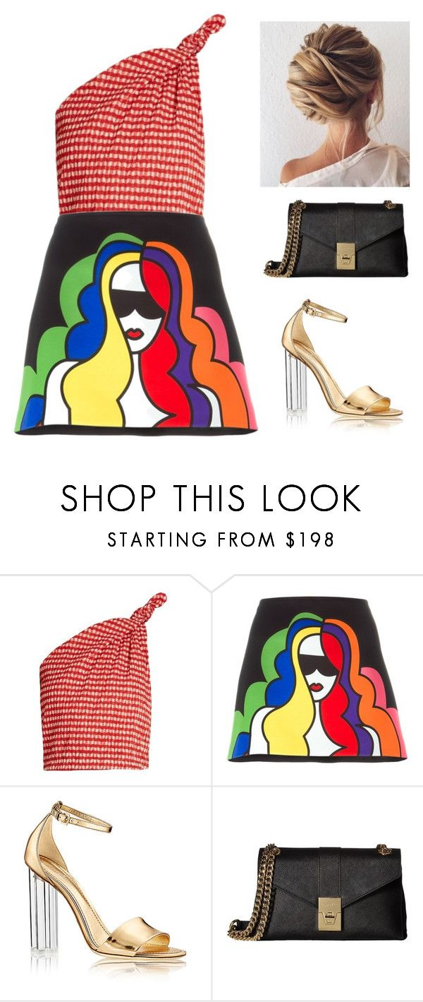 """""""A menina de cabelo colorido."""" by jaquemel ❤ liked on Polyvore featuring Rosie Assoulin, Au Jour Le Jour and Calvin Klein"""
