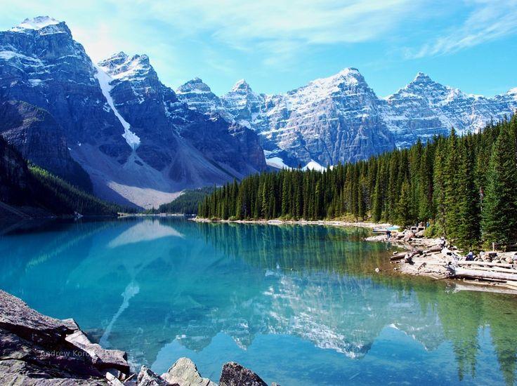 4 – Lago Moraine, Canadá