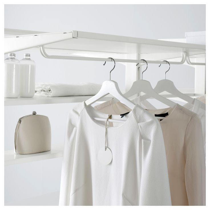 IKEA - ALGOT Clothes rail for brackets white