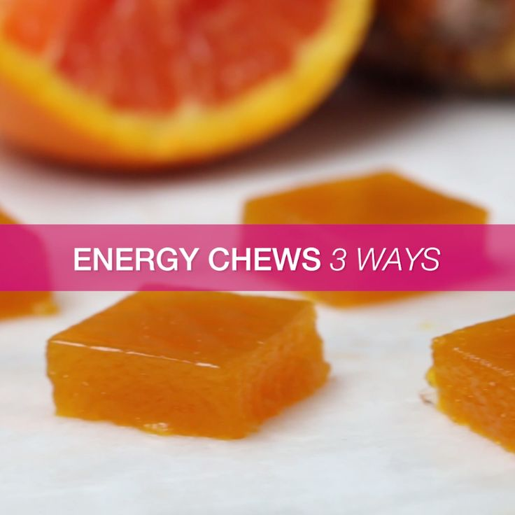 Energy Chews 3 Ways