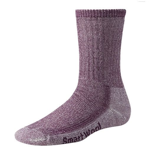 Gear up for Outdoors  Smartwool Womens Hiking Medium Crew Sock  $21.99  Dark Cassis