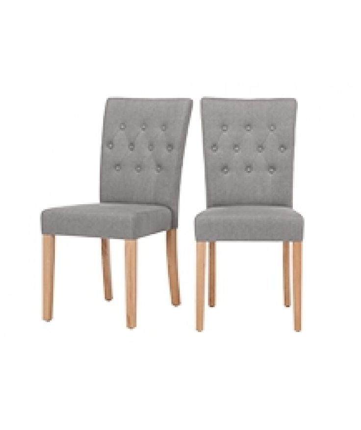 2 X Flynn Dining Chairs Graphite Grey For Think They Would Look Smart With The Dark Slate Place Mats And Runners