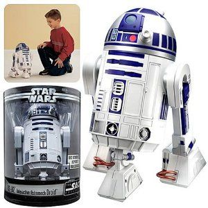 Amazon.com: Star Wars R2D2 Interactive Astromech Droid Voice Activated: Toys & Games
