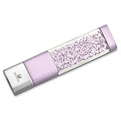 Crystalline USB Key, Light Amethyst    I really want this USB! It's so pretty!