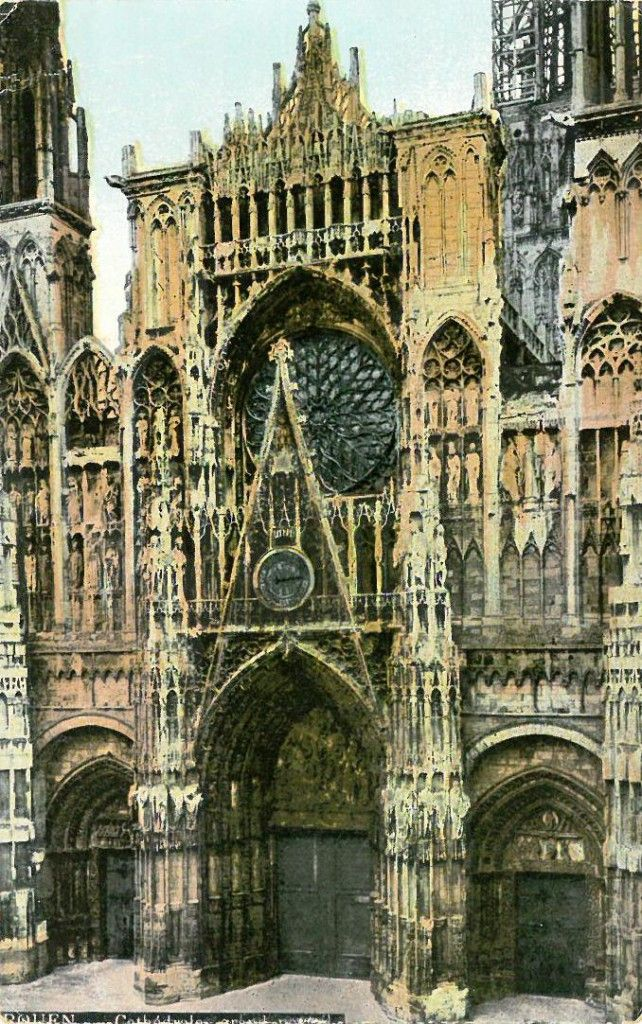 A wicked cab ride around Rouen, with Madame Bovary