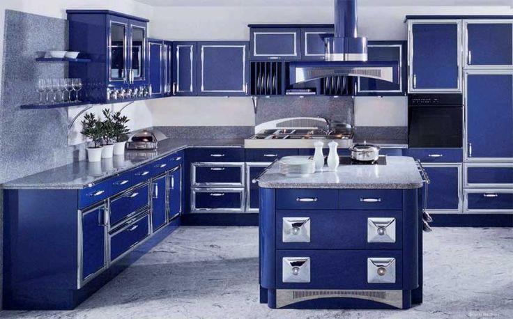 cobalt blue kitchen cabinets allmilmo long island at kitchen designs by ken kelly classic art model blue pinterest models classic art and - Blue Kitchen Designs