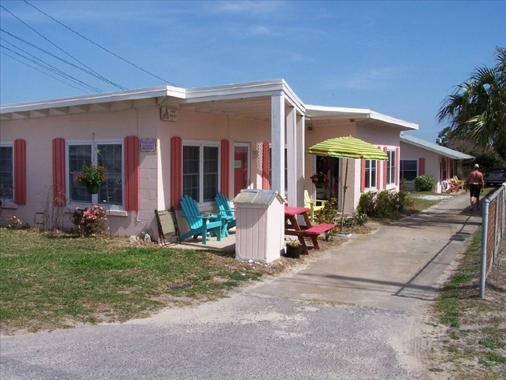 Postcard Of The Ebb Tide Motel Panama City Beach Favorite Places Es Pinterest And