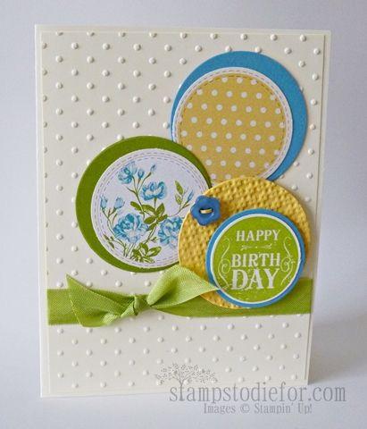 Mojo Monday Challenge 281 handmade Birthday Card using Stampin' Up!