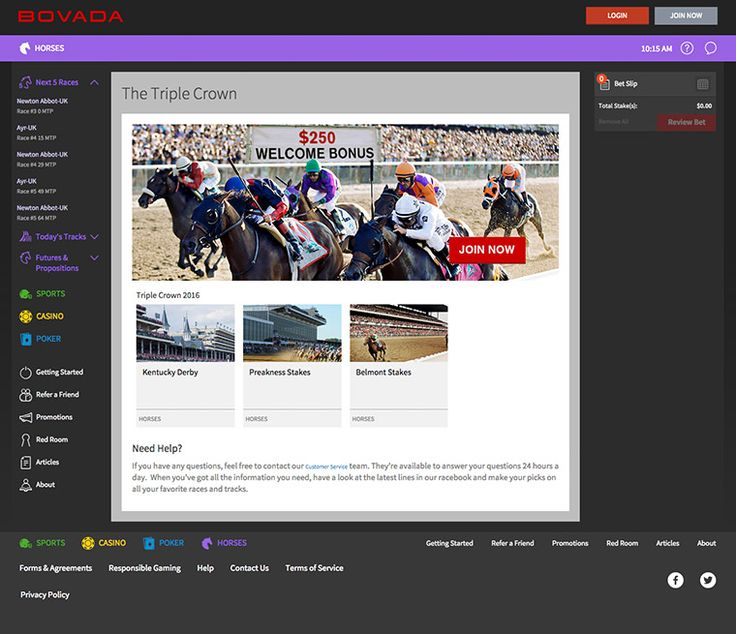 Online Sports Betting, Poker, Casino and Racebook at Bovada - WORLDGAMBLING the best Casinos,Games and Bet games