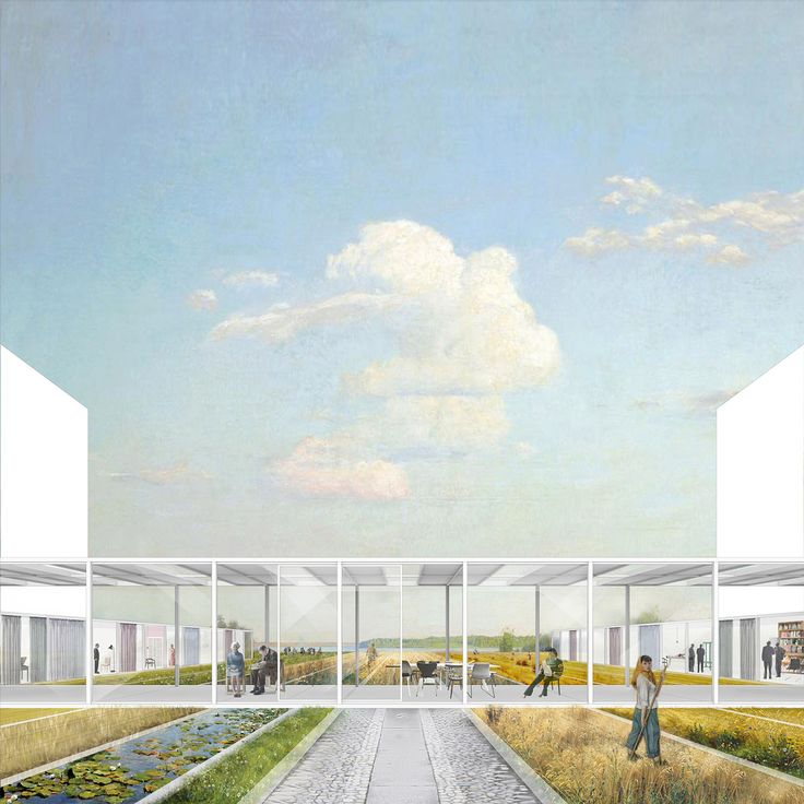 Agricultural Center rendering. Image credit and courtesy of Dingliang Yang.