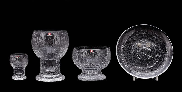Glases, smal bowl and plate