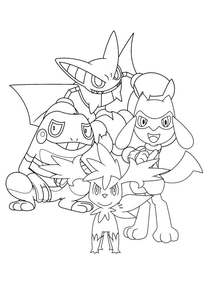 27 best LineArt Chibi Pokemon