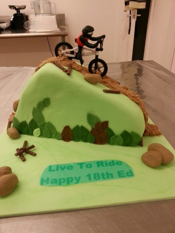Road Bike Cake Decoration : 13 best images about bike fondant cake on Pinterest How ...