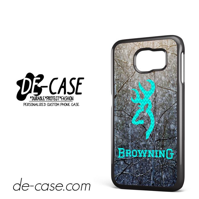 Browning Deer With Flag Name DEAL-2149 Samsung Phonecase Cover For Samsung Galaxy S6 / S6 Edge / S6 Edge Plus