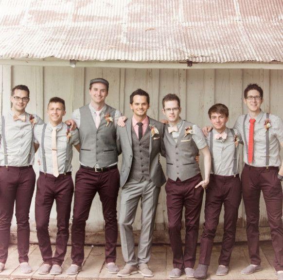 Barn Wedding Attire For Men